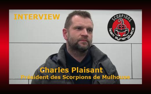 Photo hockey Interview Charles Plaisant Président des Scorpions de Mulhouse - Division 1 : Mulhouse (Les Scorpions)