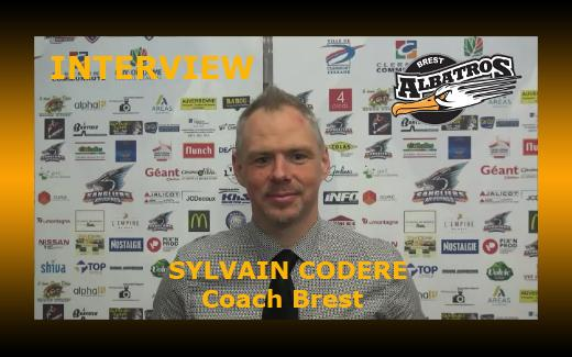 Photo hockey Interview Sylvain Codère - Division 1 : Brest  (Les Albatros)