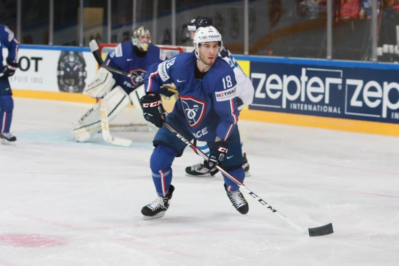 Photo hockey Y. Auvitu : « Je suis de retour » - Hockey en Europe