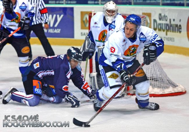 Johann Morant, saison 2007-08 à Grenoble