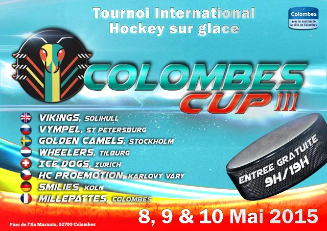 Photo hockey 3ème tournoi international à Colombes - Hockey Loisir : Colombes (Les Mille Pattes)