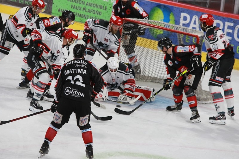 Photo hockey Amiens vs neuilly : Galerie photos - Ligue Magnus