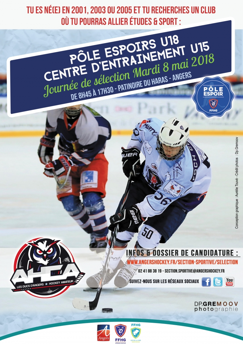 Photo hockey Angers Hockey Club Amateur recrute - Hockey Mineur