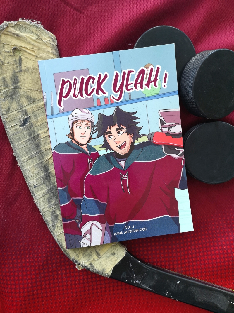 "Photo hockey Bande dessinée ""Puck Yeah!"" - Autour du hockey"