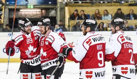 Photo hockey Coupe Spengler 2015: Oh Caaaaanada ! - Hockey en Europe