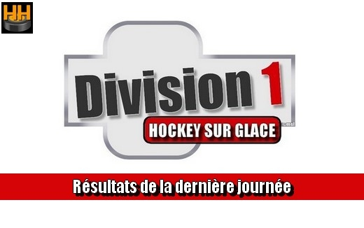 Photo hockey D1 - Résultats du week end - Division 1