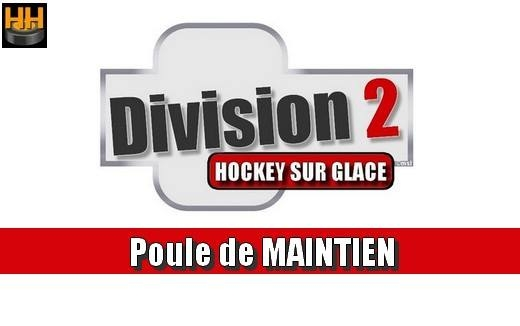 Photo hockey D2 : Résultats Poule de Maintien - J 2 - Division 2