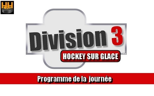 Photo hockey D3 - Résultats de la journée du 07/12/20019 - Division 3
