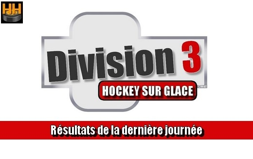 Photo hockey D3 - Résultats du week-end 09-10/11/2019 - Division 3