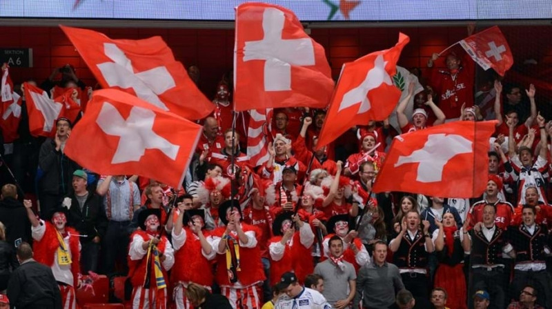 Photo hockey Fréquentation : La Suisse championne d