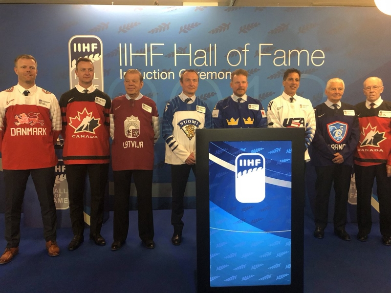 Photo hockey IIHF 2018 - Hall of Fame - Hockey dans le Monde