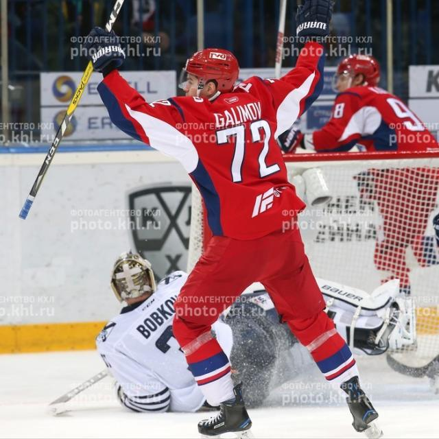 Photo hockey KHL : A toute vapeur - KHL - Kontinental Hockey League