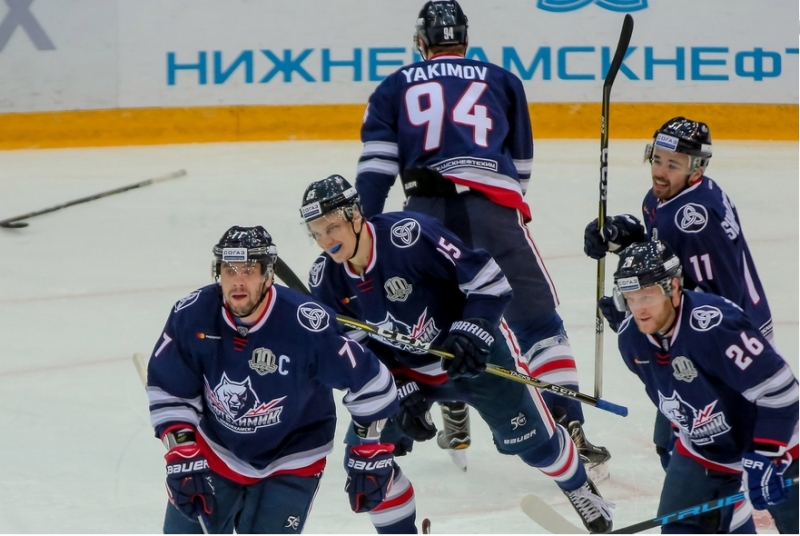 Photo hockey KHL : Attaque chimique - KHL - Kontinental Hockey League