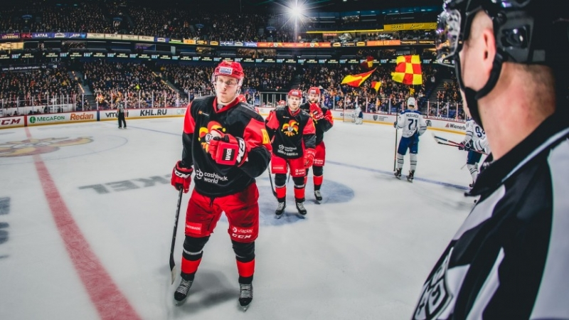 Photo hockey KHL : Ca se resserre - KHL - Kontinental Hockey League