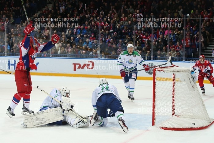 Photo hockey KHL : Chocs interconférences - KHL - Kontinental Hockey League