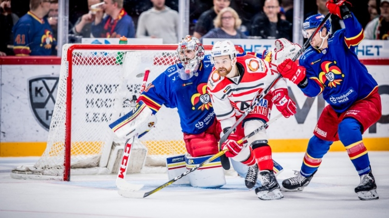 Photo hockey KHL : Da Costa frappe encore - KHL - Kontinental Hockey League