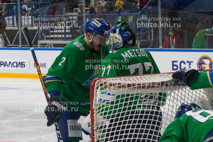 Photo hockey KHL : Dans les serres de l