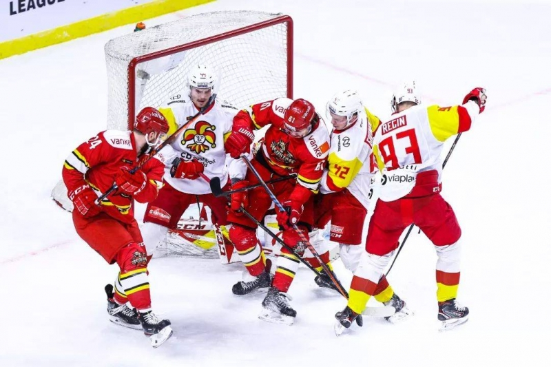 Photo hockey KHL : En Chine comme ailleurs - KHL - Kontinental Hockey League