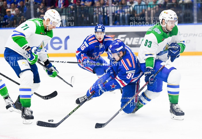 Photo hockey KHL : Frapper les esprits - KHL - Kontinental Hockey League