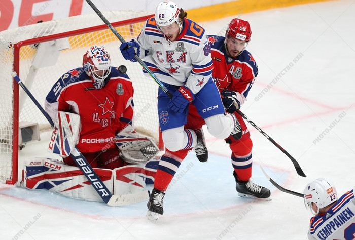 Photo hockey KHL : Infranchissable - KHL - Kontinental Hockey League