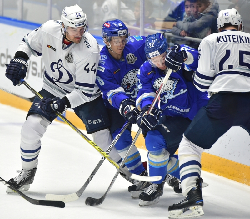 Photo hockey KHL : La capitale russe domine la kazakhe - KHL - Kontinental Hockey League
