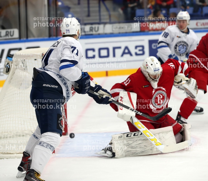 Photo hockey KHL : Le Bison renverse le Chevalier - KHL - Kontinental Hockey League
