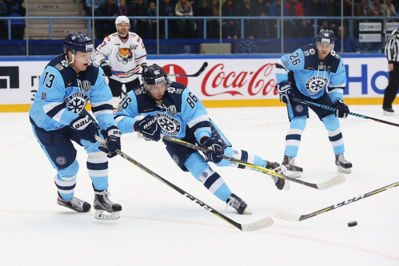 Photo hockey KHL : Le froid reprend - KHL - Kontinental Hockey League