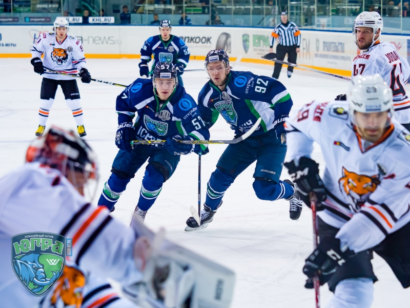 Photo hockey KHL : Le Mammouth résiste au Tigre - KHL - Kontinental Hockey League