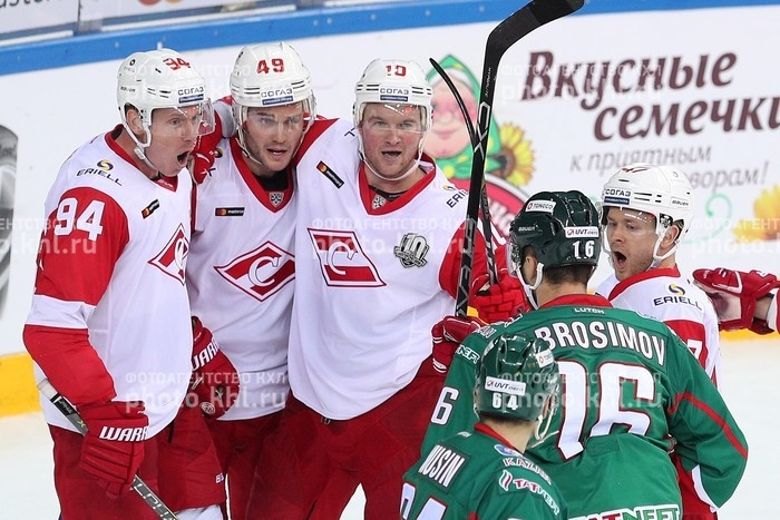 Photo hockey KHL : Le peuple chasse la panthère - KHL - Kontinental Hockey League