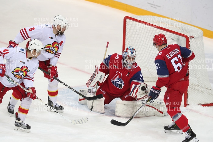 Photo hockey KHL : Le podium retrouvé - KHL - Kontinental Hockey League