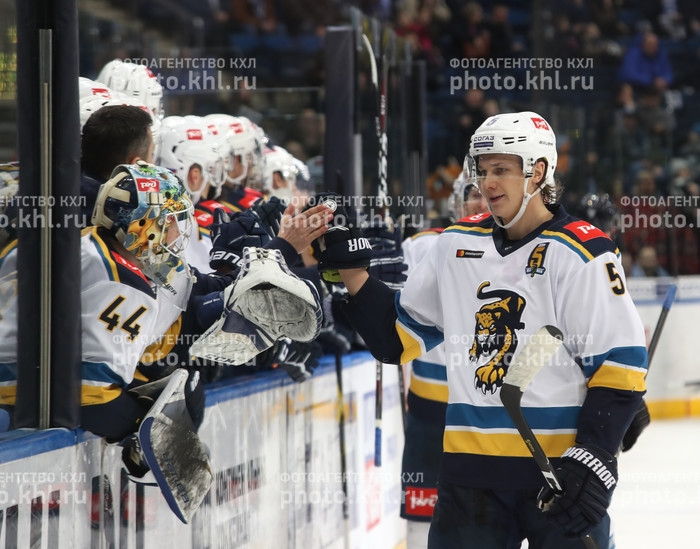 Photo hockey KHL : Le rugissement du Leopard - KHL - Kontinental Hockey League