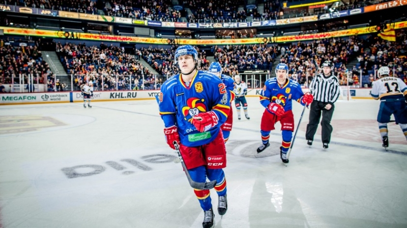 Photo hockey KHL : Mort subite - KHL - Kontinental Hockey League