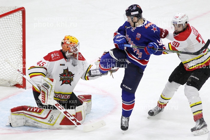Photo hockey KHL : Pas de soucis pour le tôlier - KHL - Kontinental Hockey League