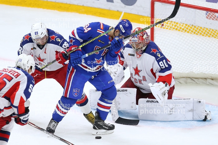 Photo hockey KHL : Qu