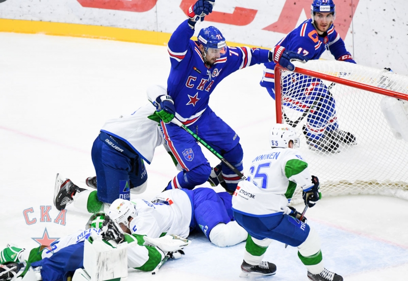 Photo hockey KHL : Renversement de situation - KHL - Kontinental Hockey League