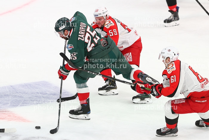 Photo hockey KHL : Reprise de confiance - KHL - Kontinental Hockey League