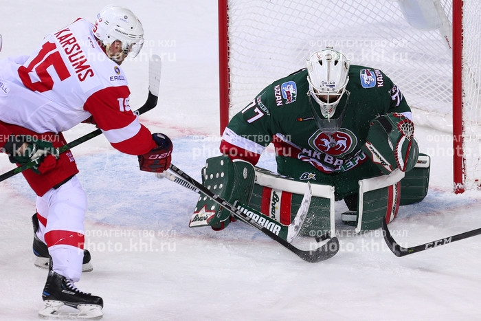 Photo hockey KHL : Retour gagnant - KHL - Kontinental Hockey League
