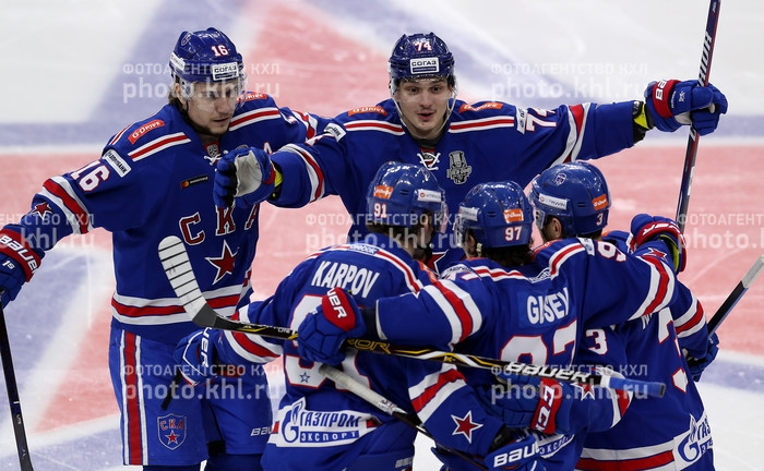Photo hockey KHL : Revenu à hauteur - KHL - Kontinental Hockey League