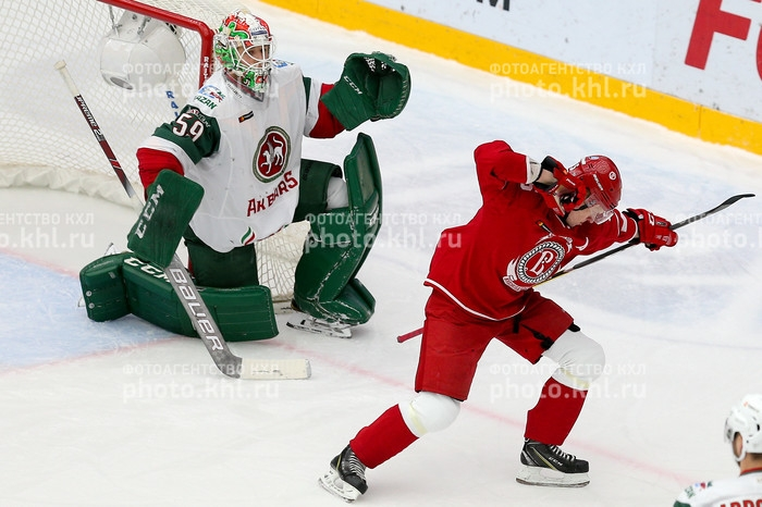 Photo hockey KHL : Surprise en banlieue - KHL - Kontinental Hockey League