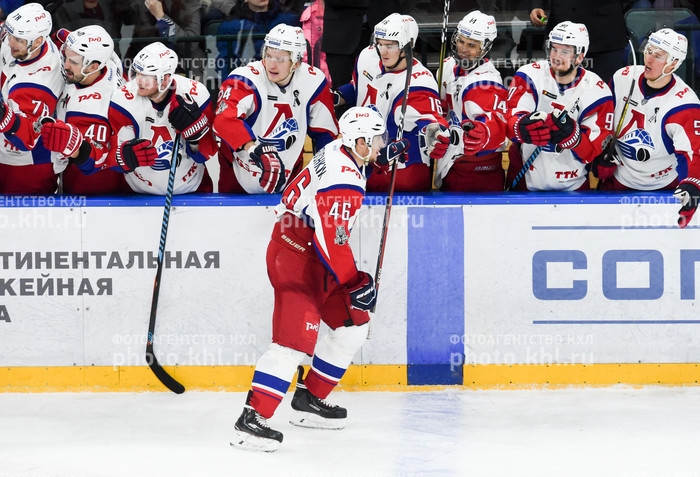 Photo hockey KHL : Triple égalisations - KHL - Kontinental Hockey League