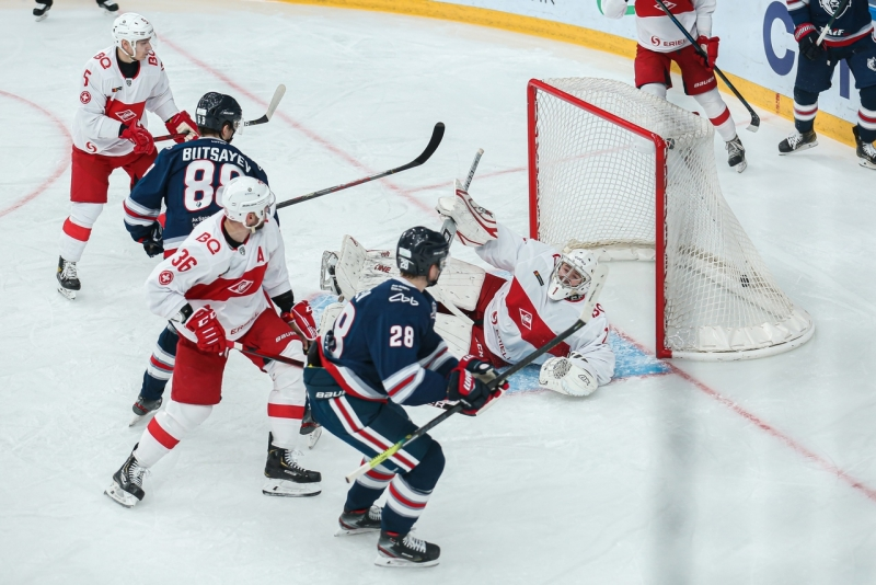 Photo hockey KHL : Un anniversaire bien fêté - KHL - Kontinental Hockey League