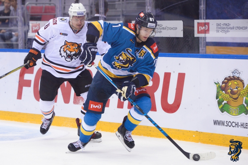 Photo hockey KHL : Un festin de Leopard - KHL - Kontinental Hockey League