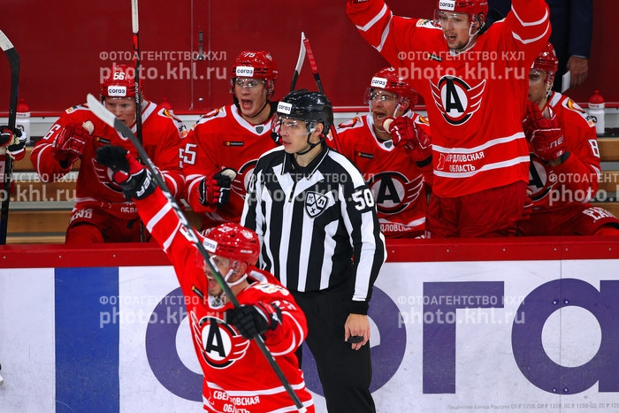 Photo hockey KHL : Une sacrée partie - KHL - Kontinental Hockey League