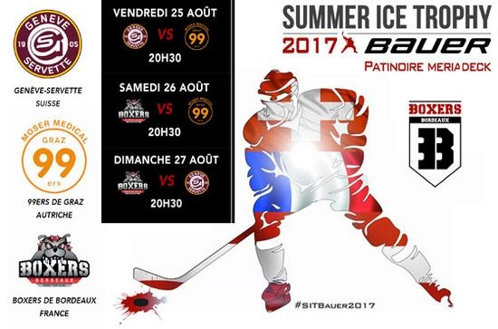 Photo hockey Le Summer Ice Trophy amputé - Hockey en Europe