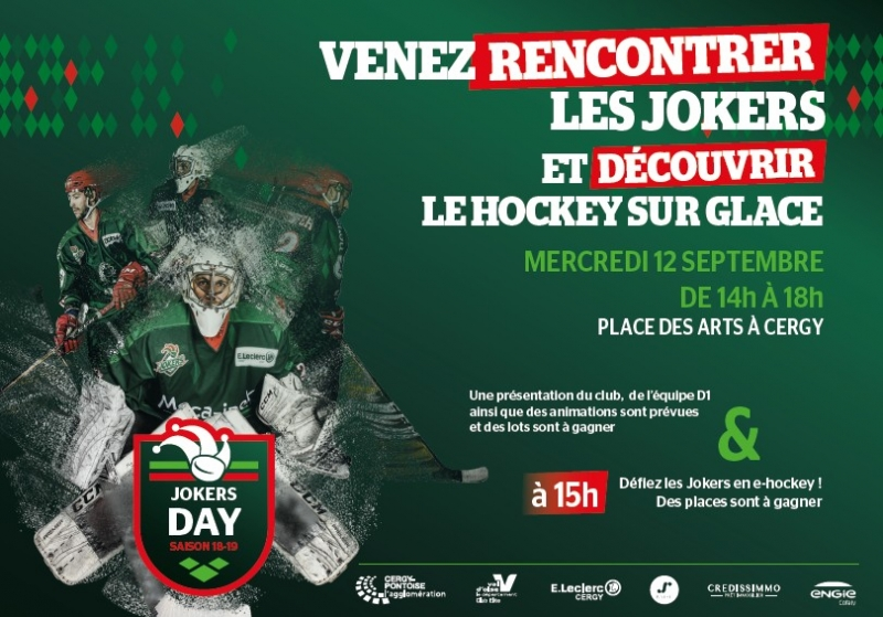 Photo hockey Les Jokers font leur rentrée - Division 1 : Cergy-Pontoise (Les Jokers)