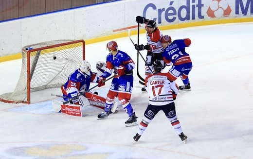 Photo hockey Lyon vs Bordeaux : Retour en images - Ligue Magnus