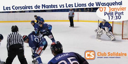 Hockey sur glace nantes avec division 2 nantes les - Patinoire petit port nantes ...