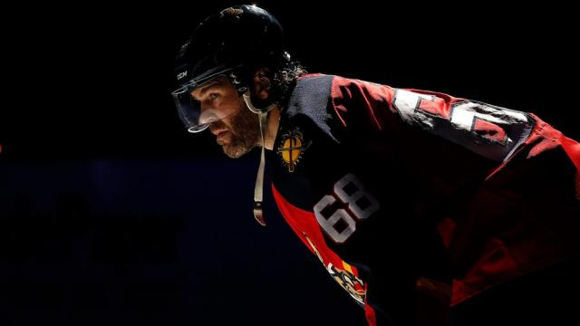 Photo hockey NHL : Jagr toujours dans le coup - NHL - National Hockey League