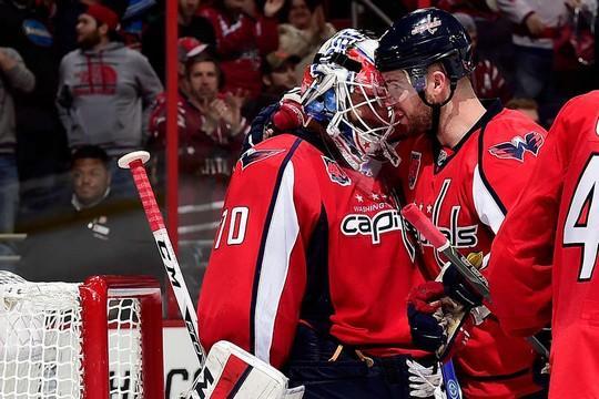 Photo hockey NHL : La muraille de Washington - NHL - National Hockey League
