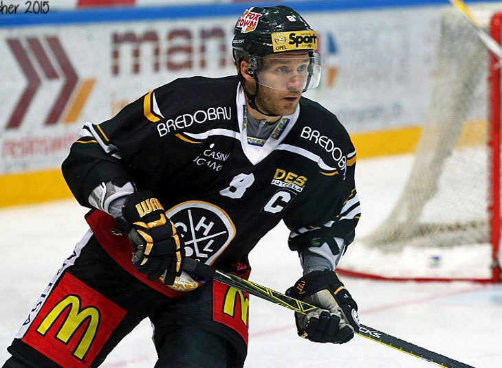 Photo hockey NLA: Steve Hirschi honoré - Suisse - National League : Lugano (HC Lugano)